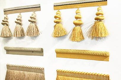 Gold And Grey UK Interior Design Houles Trimmings